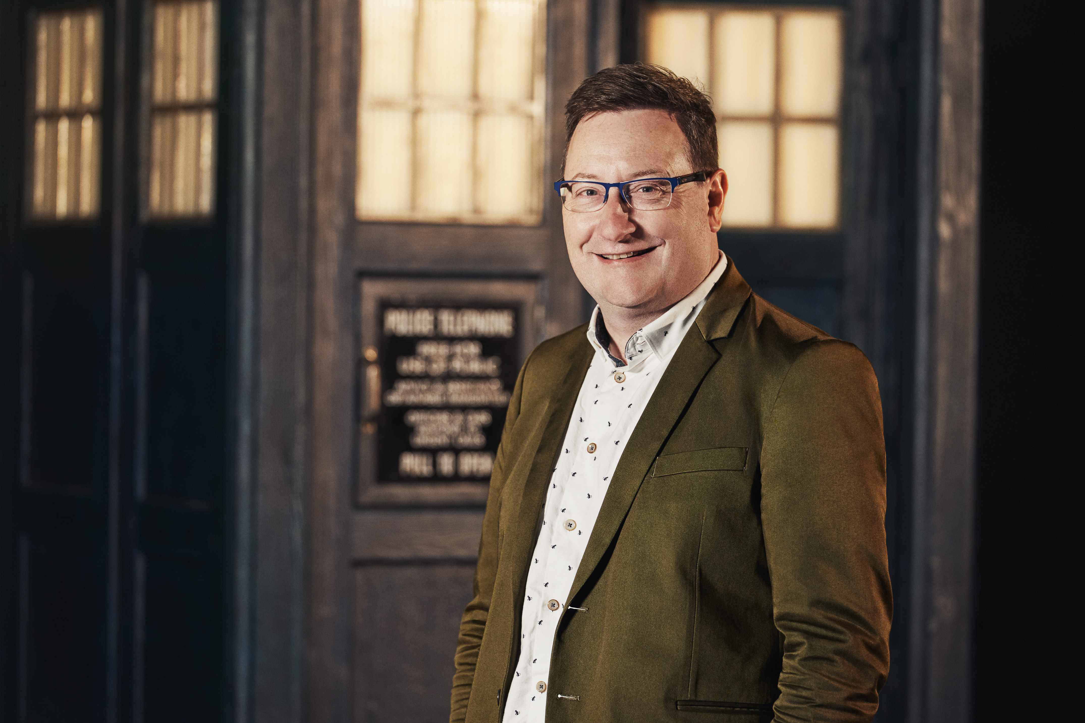New Doctor Who boss Chris Chibnall (BBC)