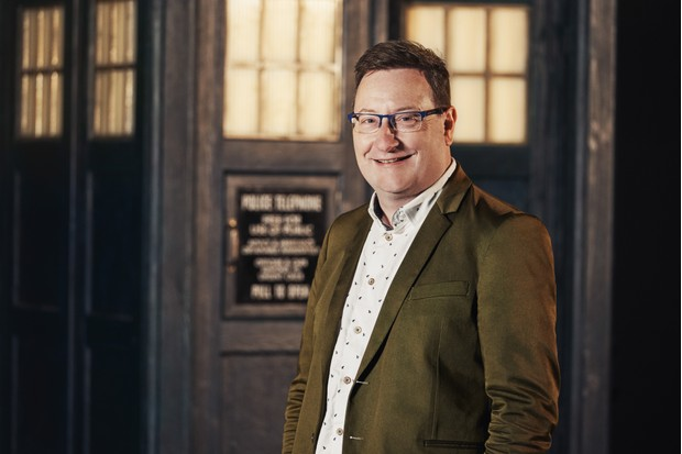 Programme Name: Doctor Who Series 11 - TX: n/a - Episode: n/a (No. 1) - Picture Shows: Chris Chibnall - Doctor Who, Showrunner - (C) BBC / BBC Studios - Photographer: Ben Blackall