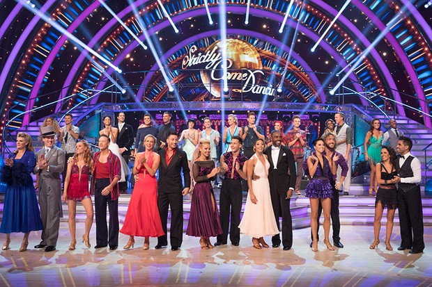 The Strictly Come Dancing 2018 contestants in week 2 (BBC, HF)