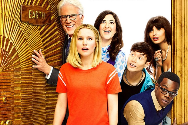 The cast of The Good Place (Netflix, NBC, HF)