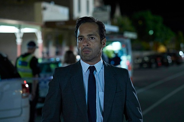 Alex Dimitriades plays Detective Peter Alexiades in The Cry