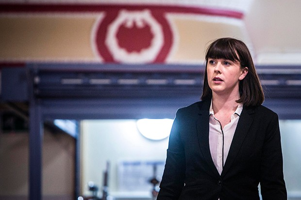 Alexandra Roach plays DS Joy Freers in No Offence