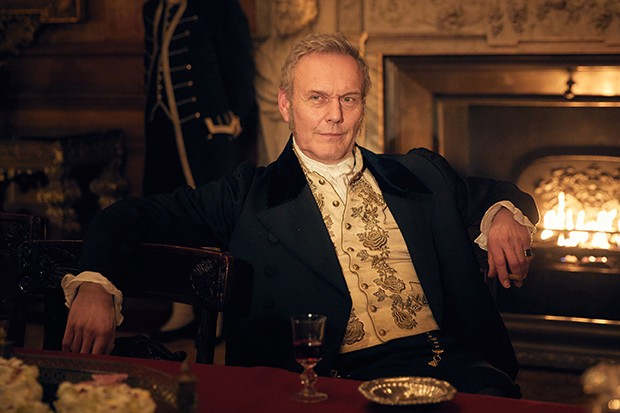 Anthony Head plays Lord Steyne in Vanity Fair