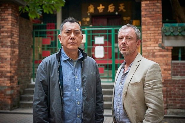 Anthony Wong and John Simm in Strangers