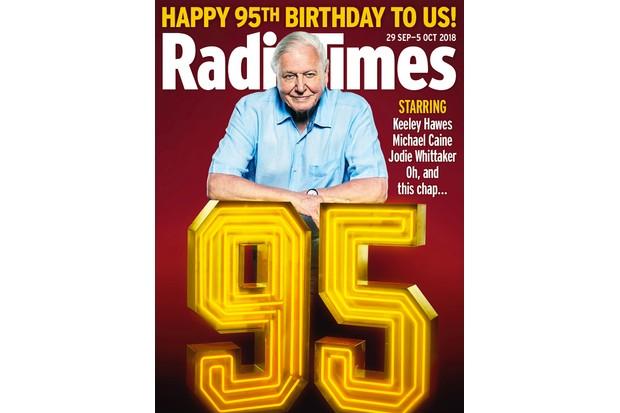 Attenborough 95th anniversary cover