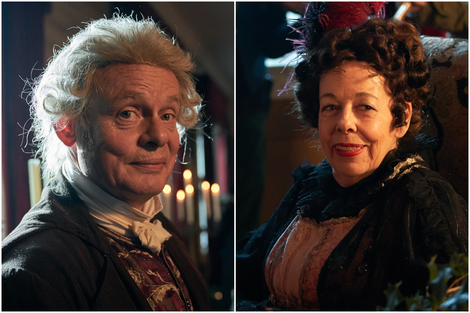 Martin Clunes and Frances de la Tour Vanity Fair