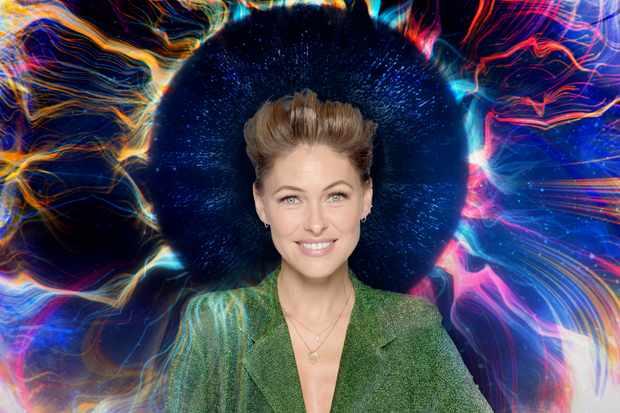 Presenter Emma Willis (Channel 5)