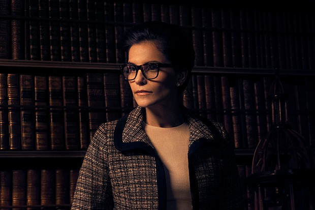Charlotte Riley plays Robina Lund in Trust