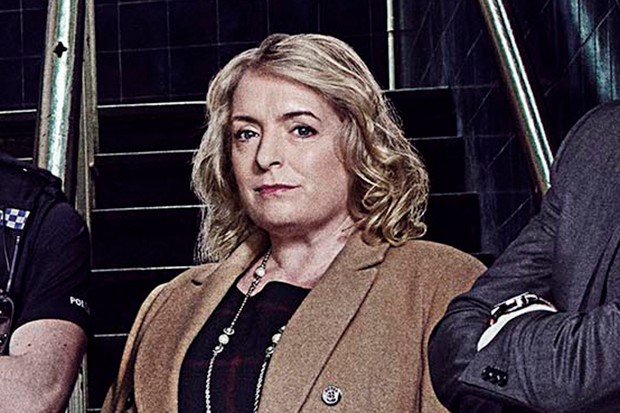 Claire Rushbrook plays Superintendent Marilyn Merchant in No Offence