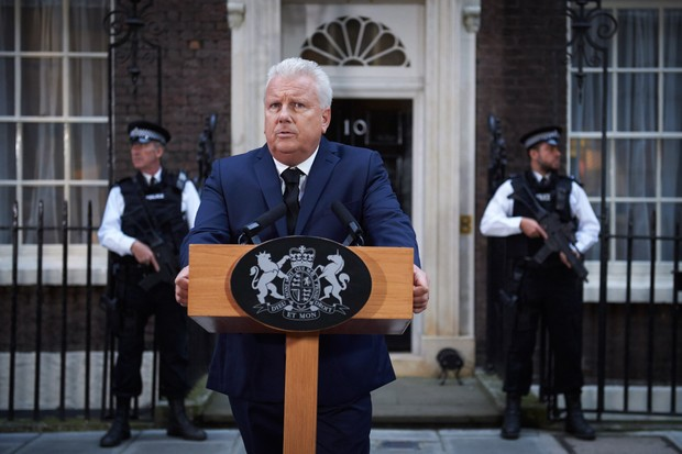 David Westhead plays the Prime Minister in Bodyguard