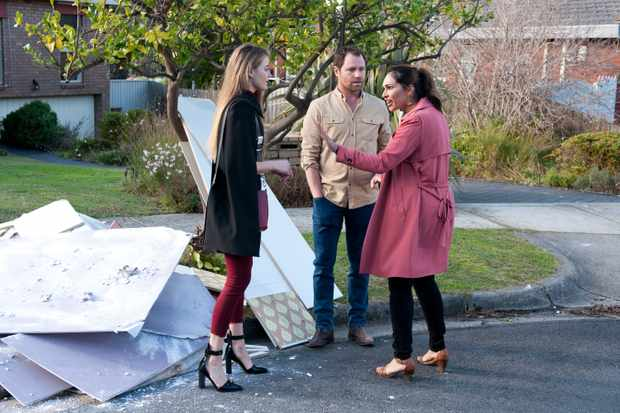 7c830d864746f Neighbours: are Chloe and Shane having an affair? April Rose Pengilly on  scandalous twist