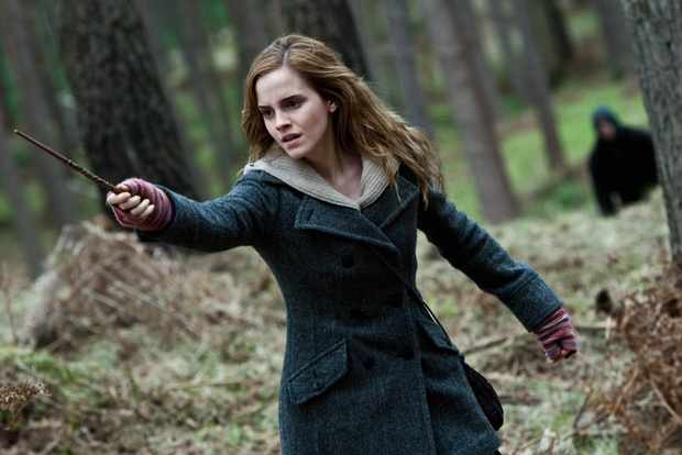 Emma Watson stars in Harry Potter and the Deathly Hallows - Part 1