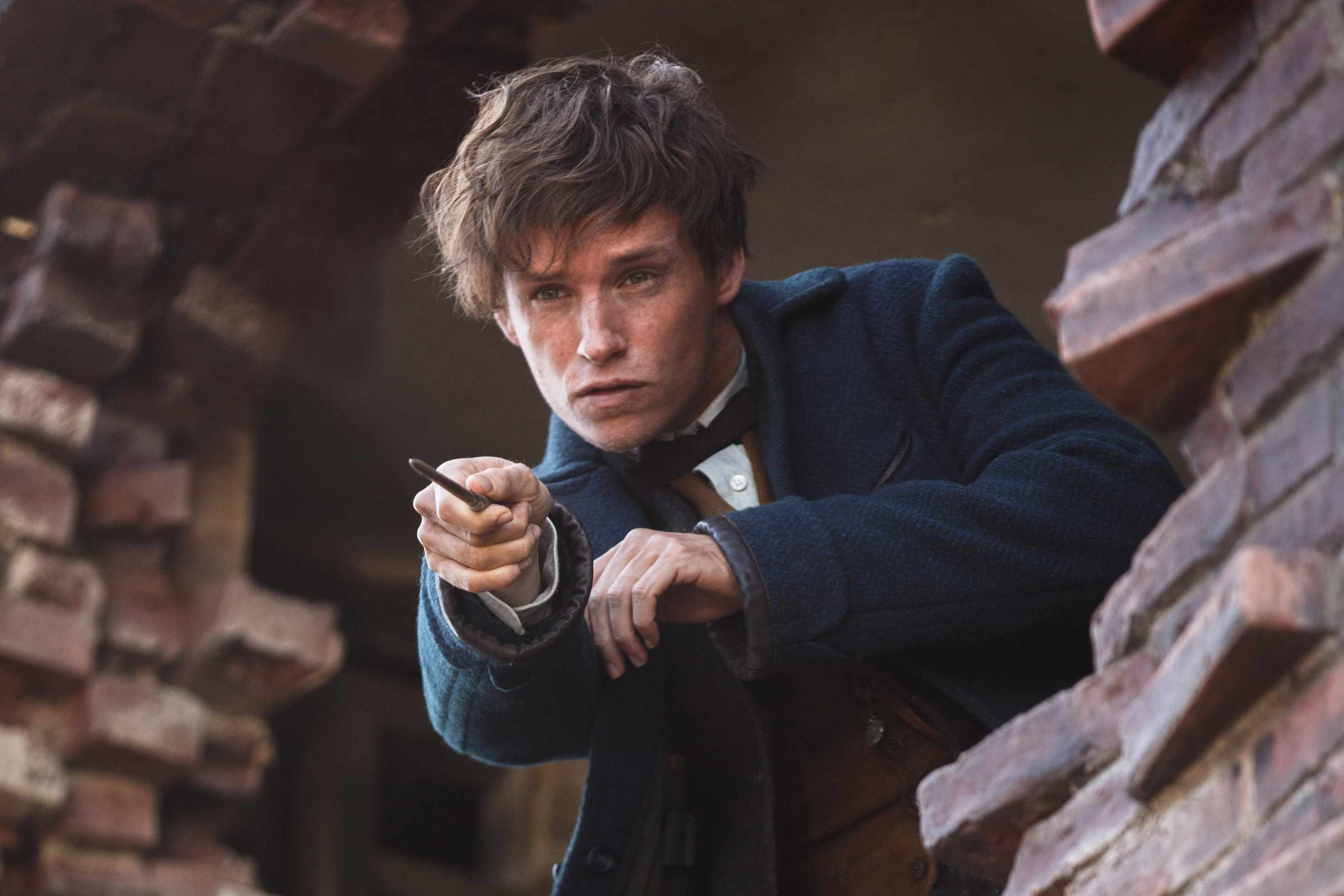 Eddie Redmayne as Newt Scamdander