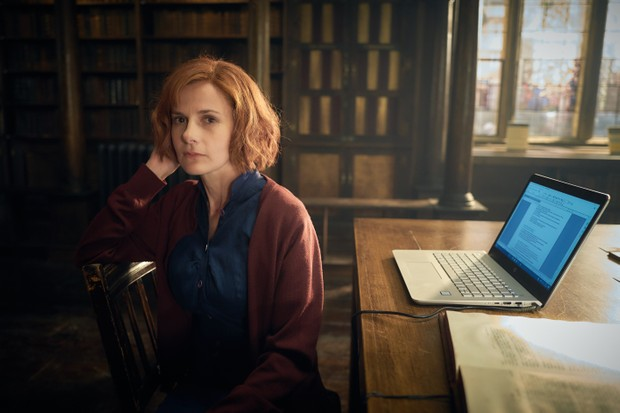Louise Brealey in A Discovery of Witches (Sky, HF)