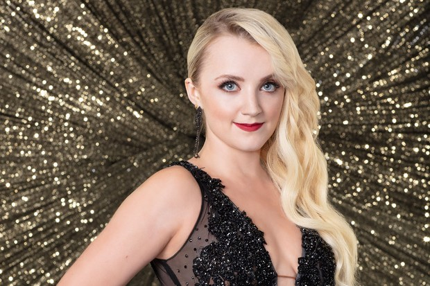 harry potter s evanna lynch joins dancing with the stars radio times