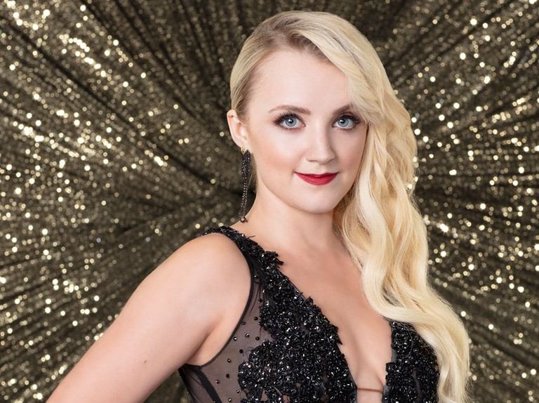 Dancing With The Stars 2018 Harry Potter Stars Wish Evanna Lynch Luck Ahead Of Final Jk Rowling Emma Watson And Tom Felton Share Video Messages Radio Times