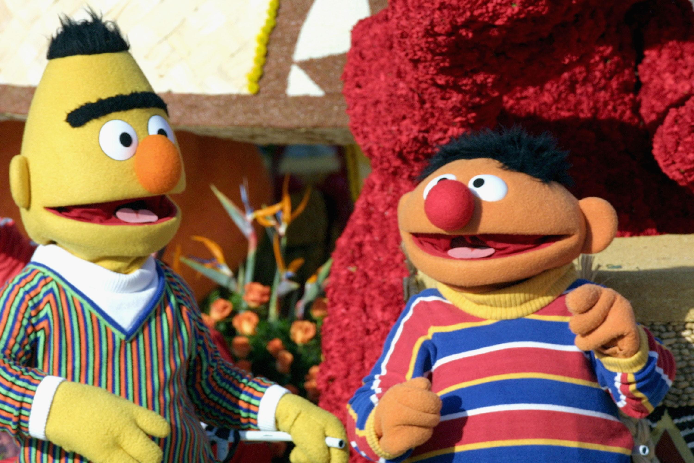 Bert and Ernie, Sesame Street (Getty, EH)