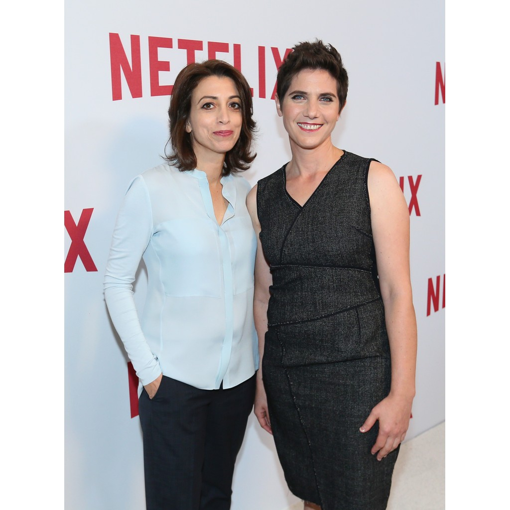 BEVERLY HILLS, CA - MAY 14: Laura Ricciardi and Moira Demos attend Netflix's Rebels and Rule Breakers Luncheon and Panel Celebrating The Women of Netflix at the Beverly Wilshire Four Seasons Hotel on May 14, 2016 in Beverly Hills, California. (Photo by Mark Davis/Getty Images)