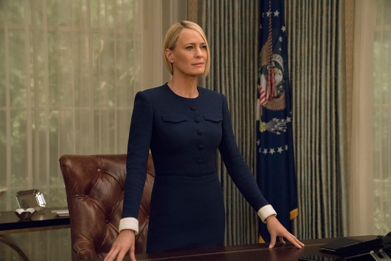 Claire Underwood (Robin Wright) in House of Cards season six (Netflix)