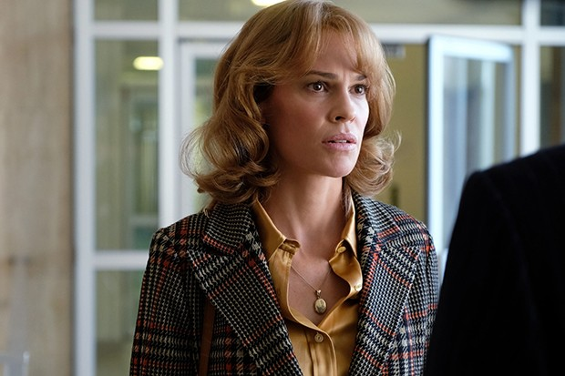 Hilary Swank plays Gail Getty in Trust