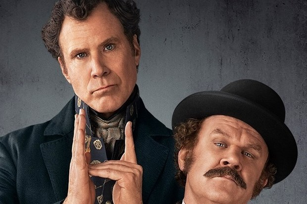 Will Ferrell and John C Reilly in Holmes & Watson (Sony, HF)