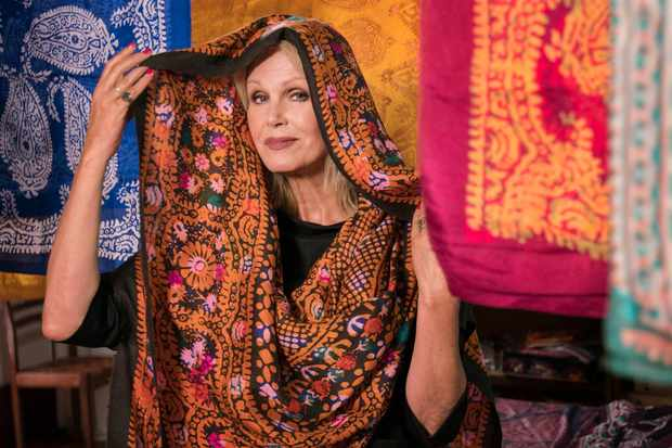 EMBARGOED PICTURE: FOR PUBLICATION FROM TUESDAY 4TH SEPTEMBER 2018  From Burning Bright Productions  JOANNA'S LUMLEY'S SILK ROAD ADVENTURE Wednesday 12th September 2018 on ITV   Pictured: Joanna Lumley   This epic new four-part series is Joanna LumleyÕs grandest and most challenging journey yet, a breath-taking odyssey from Venice to the Chinese border along the veins of the ancient Silk Road.  A perilous network of paths, the Silk Road shaped the modern world, bringing silk, printing, spices, gunpowder, and many other things, to the West. JoannaÕs adventure will see her travel through a breath-taking array of fabulous landscapes as she crosses continents, deserts, mountains and steppe, boldly following in the footsteps of the merchants, conquerors, kings and pilgrims who once lived and died along this route  (c) Burning Bright   For further information please contact Peter Gray 0207 157 3046 peter.gray@itv.com    This photograph is © Burning Bright  and can only be reproduced for editorial purposes directly in connection with the  programme JOANNA'S LUMLEY'S SILK ROAD ADVENTURE or ITV. Once made available by the ITV Picture Desk, this photograph can be reproduced once only up until the Transmission date and no reproduction fee will be charged. Any subsequent usage may incur a fee. This photograph must not be syndicated to any other publication or website, or permanently archived, without the express written permission of ITV Picture Desk. Full Terms and conditions are available on the website www.itvpictures.com  TL