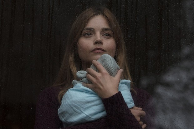Jenna Coleman and Noah in The Cry