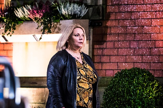 Joanna Scanlan plays DI Viv Deering in No Offence