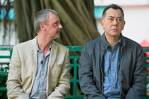 John Simm and Anthony Wong in Strangers episode 2