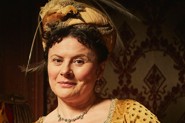 Monica Dolan plays Mrs Peggy O'Dowd in Vanity Fair
