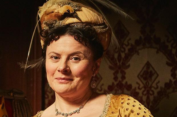 Monica Dolan plays Mrs Peggy O'Dowd in Vanity Fair