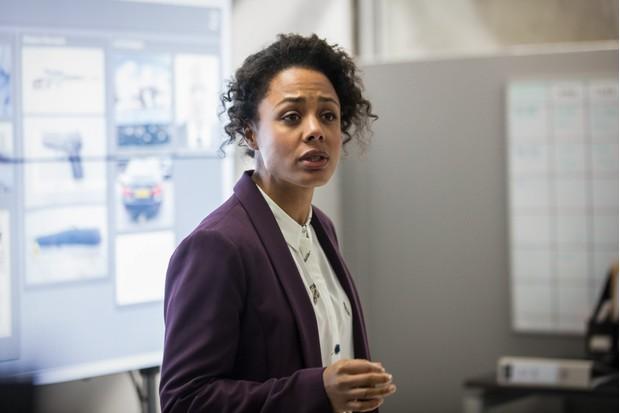 Nina Toussaint-White plays DS Louise Rayburn in Bodyguard