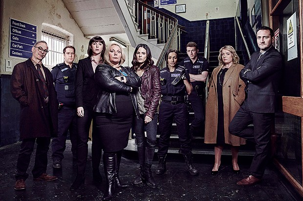 The cast of No Offence series 3