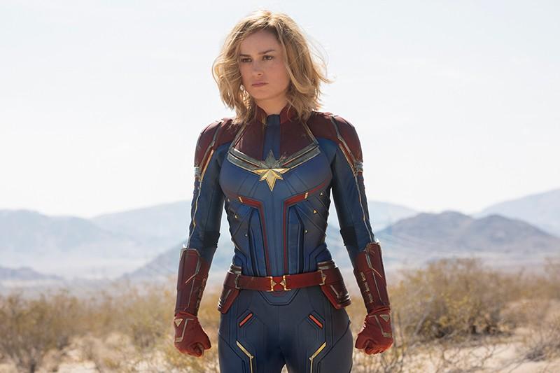 Brie Larson as Captain Marvel (Marvel, HF)