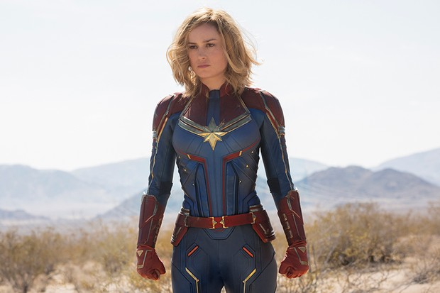 Brie Larson as Captain Marvel (Marvel, HF)