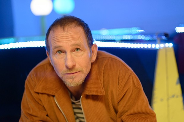 Paul Kaye plays Lawrence in Wanderlust