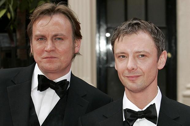 Philip Glenister and John Simm