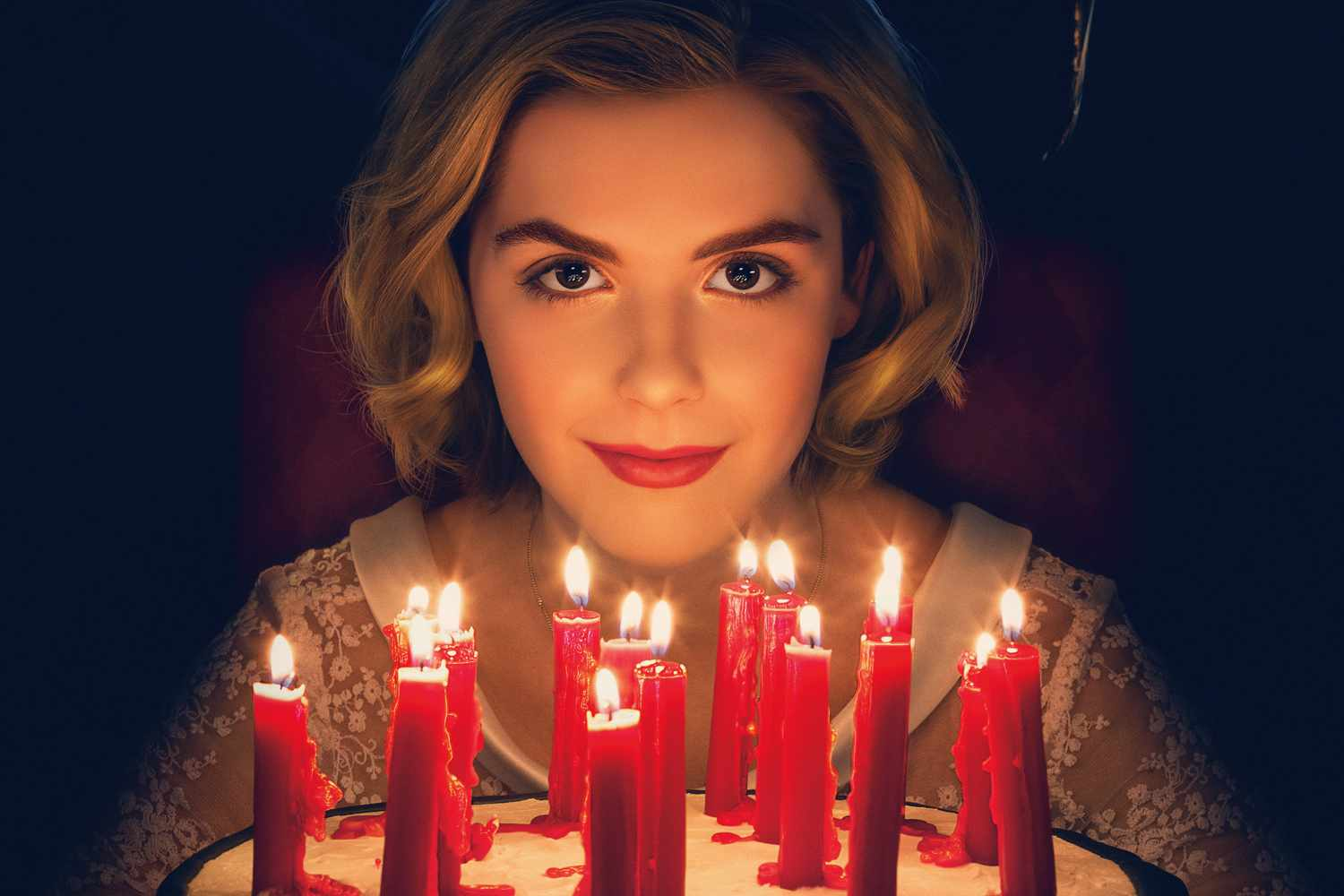 The poster for Chilling Adventures of Sabrina (Netflix)