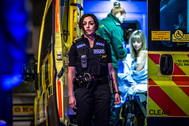 Saira Choudhry plays PC Tegan Thompson in No Offence