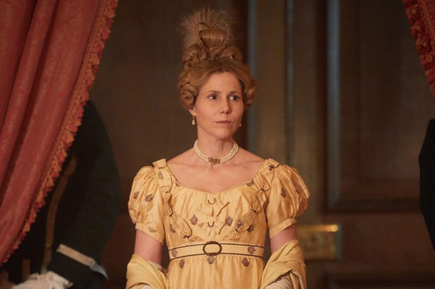 Sally Phillips plays Lady Steyne in Vanity Fair
