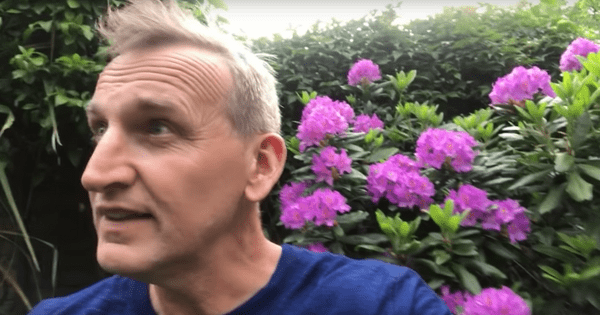 Christopher Eccleston is back as Doctor Who for fans' wedding video