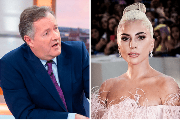 Piers Morgan and Lady Gaga (ITV, Getty, EH)