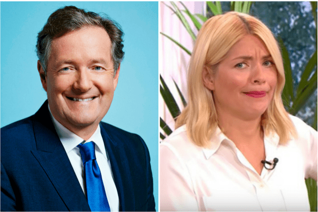 Piers Morgan, Holly Willoughby (ITV, EH)