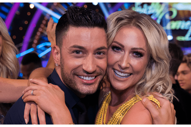 Faye Tozer, Giovanni Pernice, Strictly (BBC, EH)