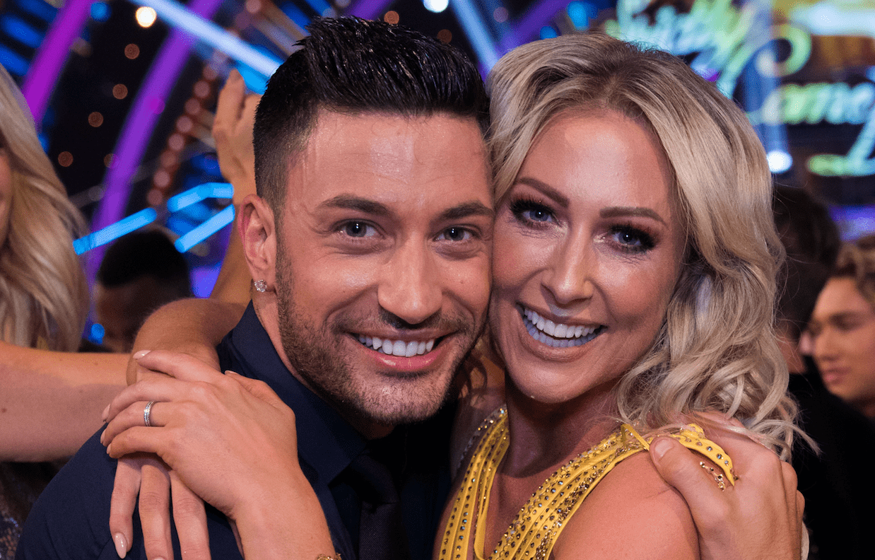 Faye Tozer, Giovanni Pierce, Strictly (BBC, EH)