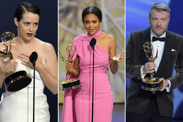 Claire Foy, Thandie Newton and Charlie Brooker pick up Emmy 2018 awards