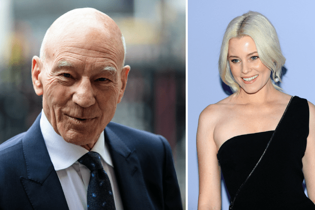 Patrick Stewart AND Elizabeth Banks are both playing Bosley in the new Charlie's Angels