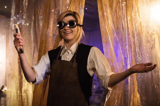Jodie Whittaker in Doctor Who series 11 (BBC, SK)