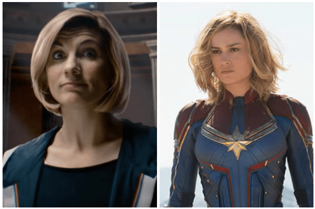 Doctor Who, Captain Marvel (BBC, Marvel, EH)