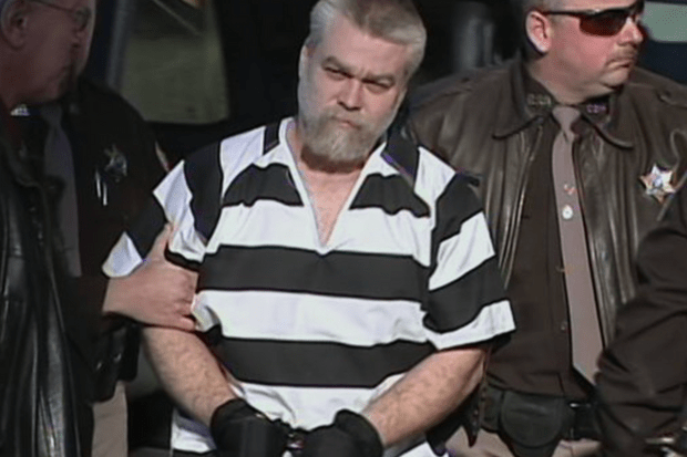 Steven Avery, Making a Murderer, Netflix Screenshot